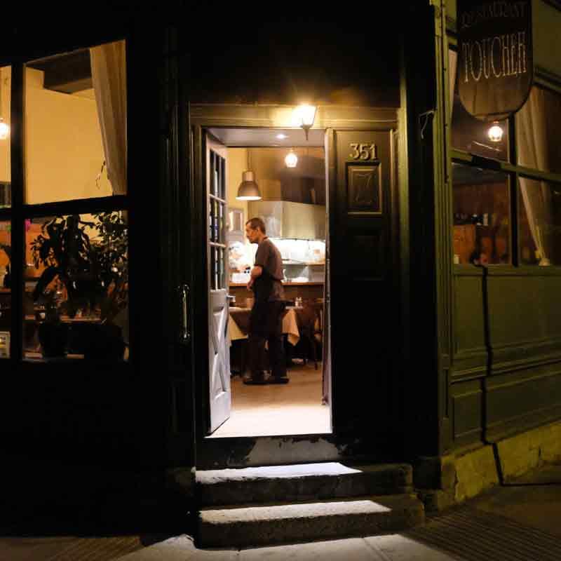 Toucheh Restaurant Front